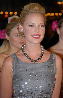 Katherine Heigl - the hot, beautiful,  actress, model,   with German, Irish, Swiss,  roots in 2020