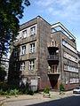 Katowice, Budynek będący pozostałością skrzydła mieszkalnego Muzeum Śląskiego ul. St. Kobylińskiego 5 04.JPG