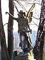 Katowice - Cmentarz przy ul. Francuskiej - Anioł 01.jpg