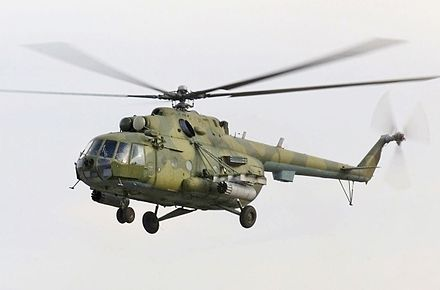 Kazakhstan Air Force Mil Mi-8MT - Mil Mi-17