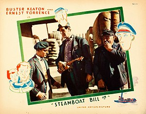 Steamboat Bill, Jr. - Lobby card