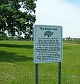 Keeler Oak Tree - sign, May 2013.jpg