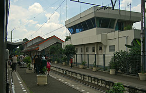 Kemayoran - Kemayoran Train Station