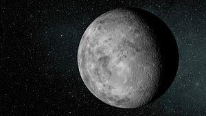 Kepler-37b - Artist's impression of Kepler-37b.