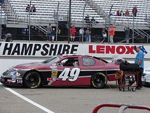 Premium Motorsports - Kertus Davis in the No. 49 at New Hampshire in 2008.
