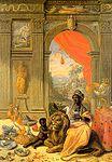 Kessel, Jan van, Senior - Die vier Erdteile - Afrika - Mittelbild - 1664-66.jpg