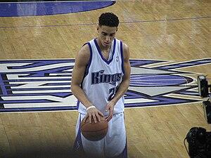 Sacramento Kings - Kevin Martin shoots a free throw at a Kings home game.