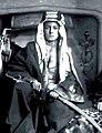 King Faisal in England, 1919.jpg