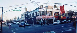Kings Highway (Brooklyn) - A view of Kings Highway from the East 16th Street intersection