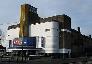 Front view of the Odeon