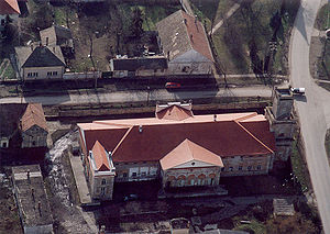 Kiszombor - Kiszombor - Palace from above