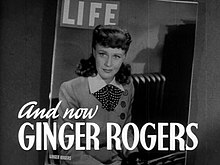Rogers as her character Kitty Foyle on the cover of Life
