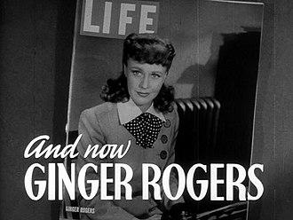 Kitty Foyle (film) - Ginger Rogers as Kitty Foyle