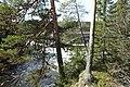 Kløftbrua Kløft bru road bridge Trondheimsveien E6 Byna and Orkla rivers spring floods Ulsberg Rennebu kommune Trøndelag Norway 2019-04-25 05055.jpg