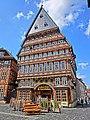 Knochenhaueramtshaus auf dem Marktplatz in Hildesheim - panoramio.jpg