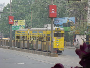 English: Tram in Calcutta