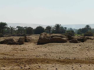 ancient Egyptian settlement
