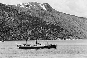 SS Kommandøren - Image: Kommandøren 1936