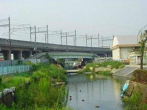 Chūō-ku, Saitama - The Kōnuma River flowing through Chūō-ku