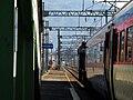 Korail Gyeongbu Line Mulgeum Station Platform.jpg