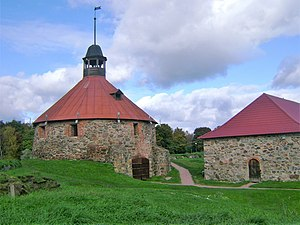 Patrikas - The Korela Fortress was built by Patrikas and his father on the bank of the Vuoksi River