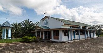 Kota Marudu District - Image: Kota Marudu Sabah Basel Church 01