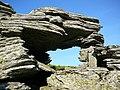 Kráľova skala, okno - panoramio (1).jpg