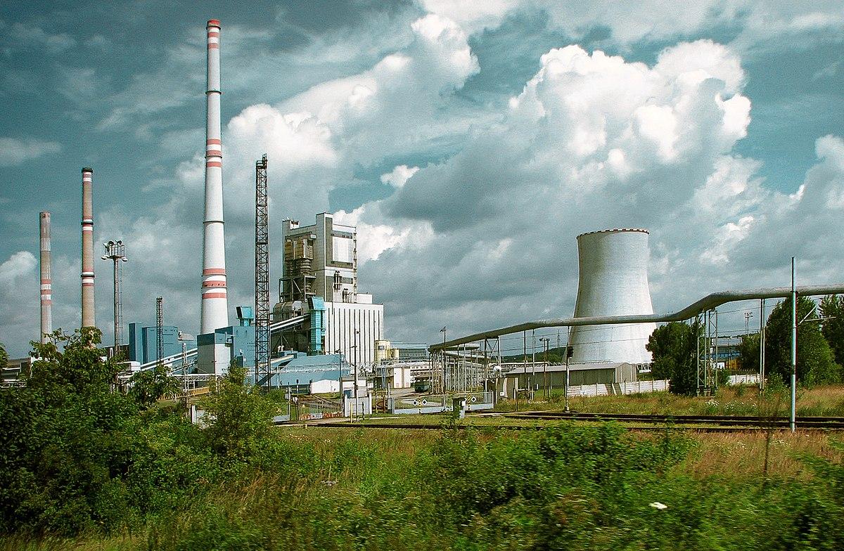 Kraftwerk Mělník – Wikipedia