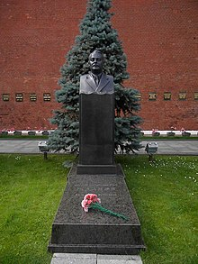Андропов где похоронен
