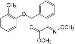 Strukturformel von Kresoxim-methyl