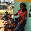 Kristina Luzi marraine d'un orphelinat en république Dominicaine.jpg