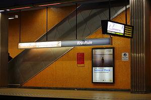 Botanique/Kruidtuin metro station - Image: Kruidtuin, Botanique metro station