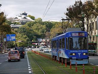 Kumamoto - Kumamoto city tram