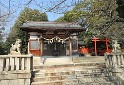 Kumano Shrine Kobe City 20160305.JPG