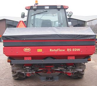Fertilizer - A large, modern fertilizer spreader