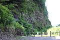 Kuwashima fossil wall view place.jpg