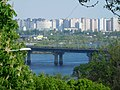 Kyiv - Paton bridge from singer field.jpg