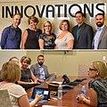 Kyrsten Sinema meeting with the Chandler Innovations Incubator in 2016.jpg