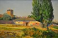 L'horta del tio Pichuchi (Àvila), Aureliano de Beruete, Museu de Belles Arts de València.JPG