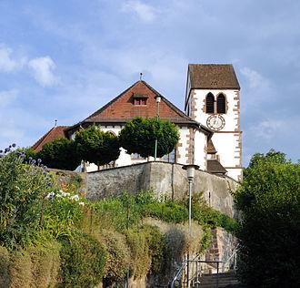 Lörrach - Church in Brombach