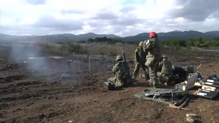 File:L16 81mm mortar fired by JGSDF soldiers during Orient Shield 2012, -31 Oct. 2012 a.webm