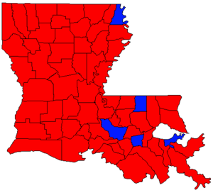 Louisiana gubernatorial election, 1995 - Image: LA Gov Election Nov 95