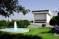 LBJ Library and Museum front view with fountain.png