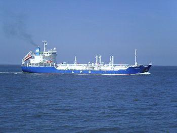 English: The LPG (liquefied petroleum gas) tan...