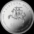 LT-2011-50litų-Petkevičaitė-Bitė-a.png