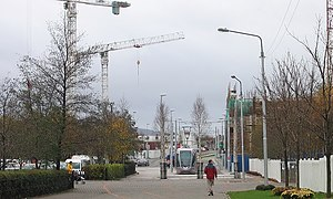 The Square Tallaght - LUAS Red Line terminus near The Square