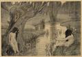 La Bain des nymphes Paul Albert Laurens 1897.png