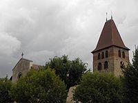 La Côte-Saint-André (38) Église Saint-André.JPG