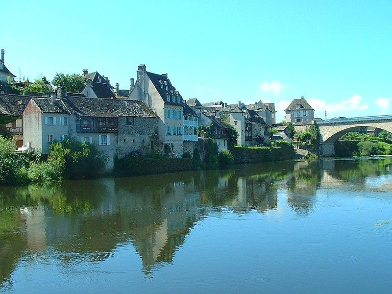 Argentat, Corrèze, 2007.