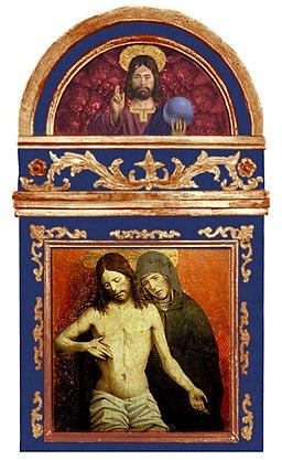 La Pietà di Gian Martino Spanzotti